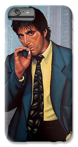 Portraits iPhone 8 Plus Case - Al Pacino 2 by Paul Meijering