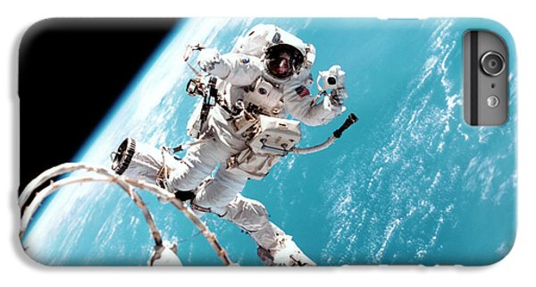 International Space Station iPhone 8 Plus Case - Iss Space Walk by Nasa
