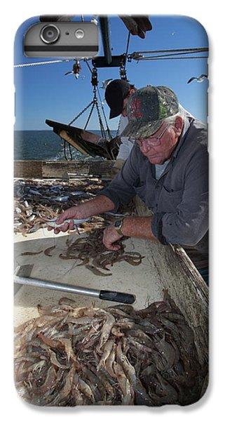 Shrimp Boats iPhone 8 Plus Case - Shrimp Fishing by Jim West