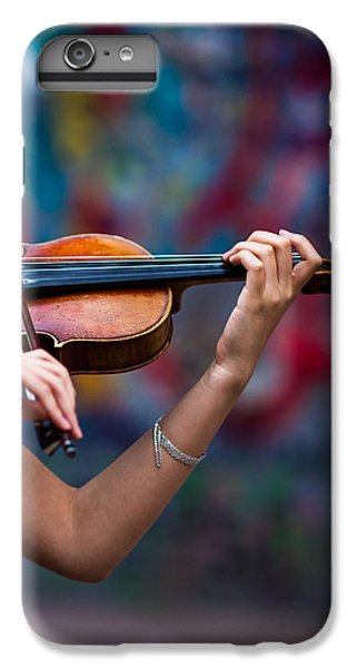 Violin iPhone 8 Plus Case - Abstracts From Vivaldi - Featured 3 by Alexander Senin