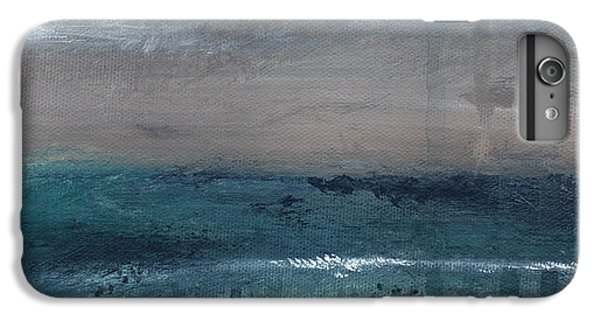 For iPhone 8 Plus Case - After The Storm- Abstract Beach Landscape by Linda Woods