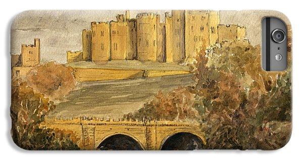 Castle iPhone 8 Plus Case - Alnwick Castle by Juan  Bosco