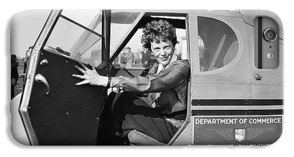 Airplane iPhone 8 Plus Case - Amelia Earhart - 1936 by Daniel Hagerman