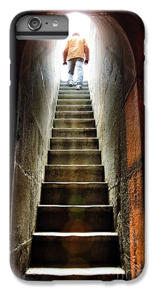 Dungeon iPhone 8 Plus Case - Basement Exit by Carlos Caetano