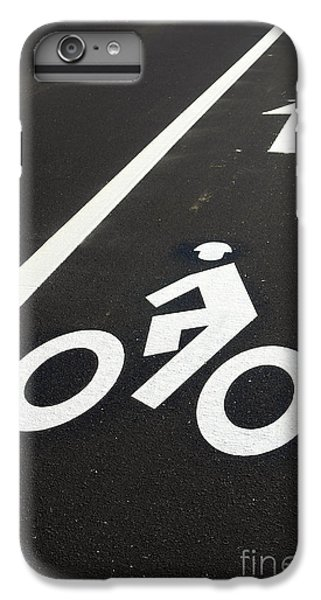 Bicycle iPhone 8 Plus Case - Bicycle Lane by Olivier Le Queinec