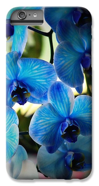 Orchid iPhone 8 Plus Case - Blue Monday by Mandy Shupp