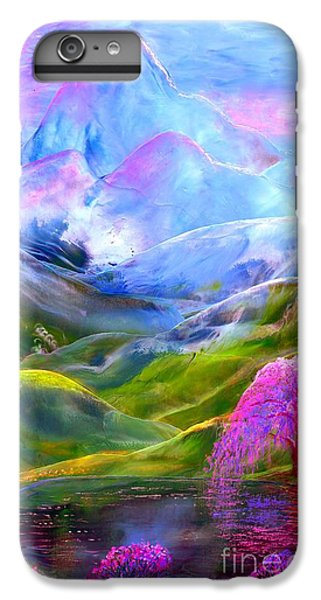 Orchid iPhone 8 Plus Case - Blue Mountain Pool by Jane Small