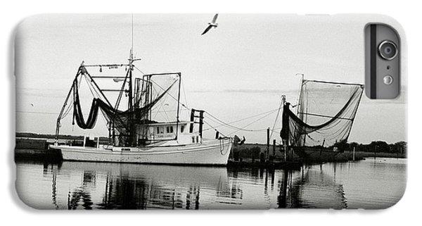 Shrimp Boats iPhone 8 Plus Case - Bon Temps by Scott Pellegrin