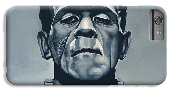 The iPhone 8 Plus Case - Boris Karloff As Frankenstein  by Paul Meijering