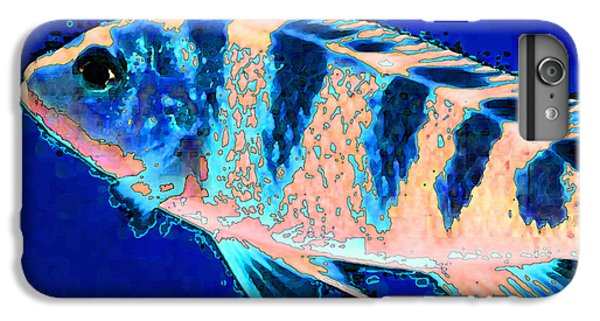 Scuba Diving iPhone 8 Plus Case - Bubbles - Fish Art By Sharon Cummings by Sharon Cummings