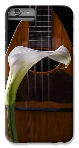 Lily iPhone 8 Plus Case - Calla Lily And Mandolin by Garry Gay