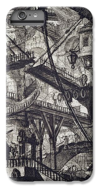 Dungeon iPhone 8 Plus Case - Carceri Vii by Giovanni Battista Piranesi