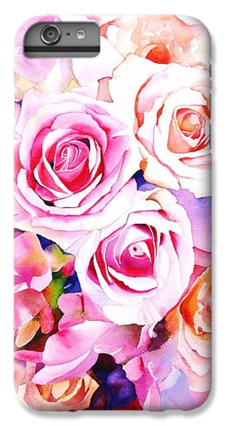 Rose iPhone 8 Plus Case - Cascade by Sarah Bent