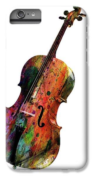 Saxophone iPhone 8 Plus Case - Cello by Mark Ashkenazi