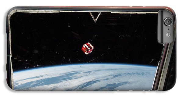International Space Station iPhone 8 Plus Case - Chance In Space by Nasa