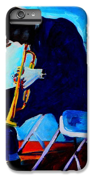 Trumpet iPhone 8 Plus Case - Chet Baker by Vel Verrept