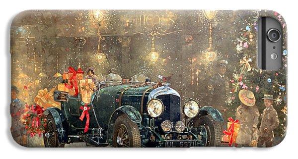 Car iPhone 8 Plus Case - Christmas Bentley by Peter Miller