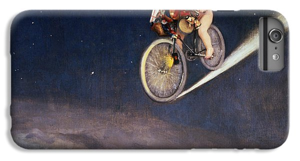 Bicycle iPhone 8 Plus Case - Christmas Delivery by Jose Frappa