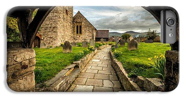 Celtic Cross iPhone 8 Plus Case - Church Entrance by Adrian Evans