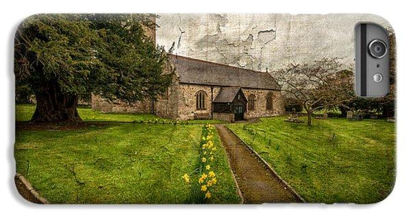 Celtic Cross iPhone 8 Plus Case - Church Path by Adrian Evans