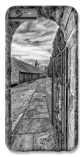 Celtic Cross iPhone 8 Plus Case - Church Way V2 by Adrian Evans