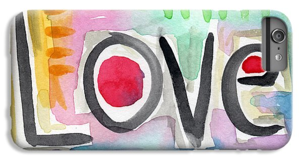 For iPhone 8 Plus Case - Colorful Love- Painting by Linda Woods