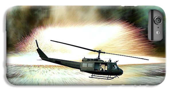 Helicopter iPhone 8 Plus Case - Combat Helicopter by Olivier Le Queinec