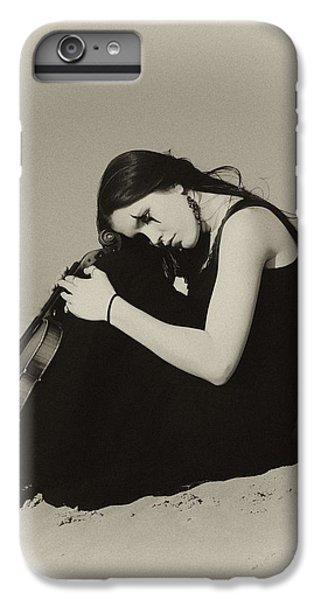 Violin iPhone 8 Plus Case - Comfort In The Desert by Gun Legler
