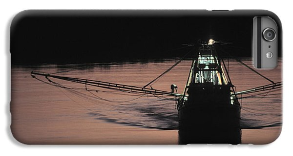 Shrimp Boats iPhone 8 Plus Case - Commercial Fishing by Peter Essick