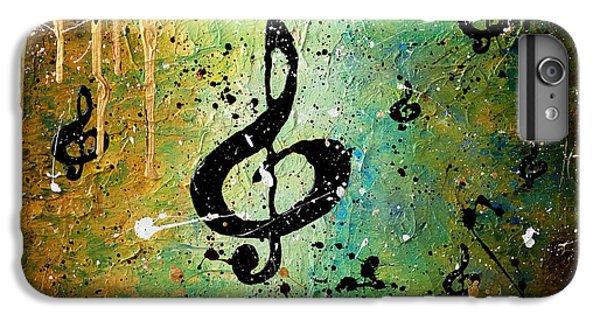 Trombone iPhone 8 Plus Case - Cosmic Jam by Carmen Guedez