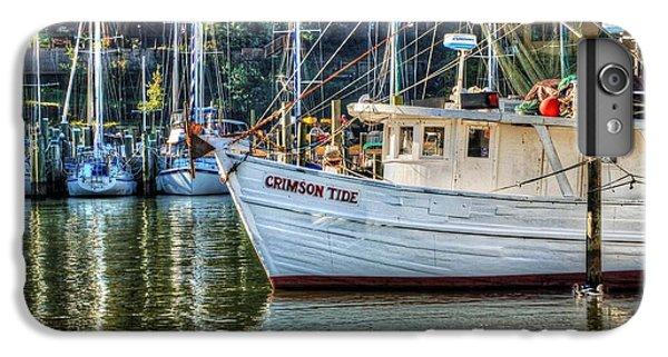 Shrimp Boats iPhone 8 Plus Case - Crimson Tide In The Sunshine by Michael Thomas