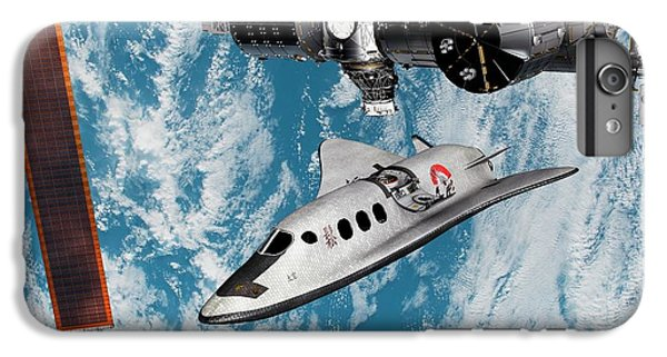 International Space Station iPhone 8 Plus Case - Cruise Shuttle Docking With The Iss by Nasa/walter Myers/science Photo Library