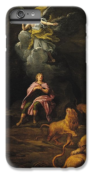 Dungeon iPhone 8 Plus Case - Daniel In The Den Of Lions Oil On Canvas by Francois Verdier