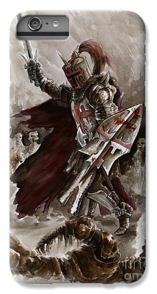 Dungeon iPhone 8 Plus Case - Dark Crusader by Mariusz Szmerdt