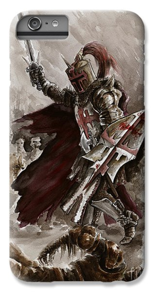 Dungeon iPhone 8 Plus Case - Dark Crusader by Mariusz Szmerdt