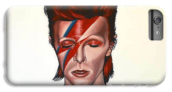 The iPhone 8 Plus Case - David Bowie Aladdin Sane by Paul Meijering