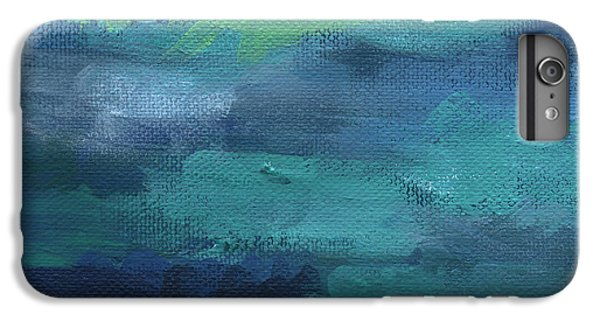 For iPhone 8 Plus Case - Tranquility- Abstract Painting by Linda Woods