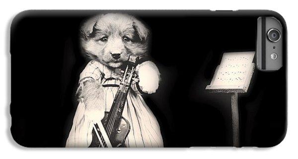 Violin iPhone 8 Plus Case - Dog Serenade by Mountain Dreams