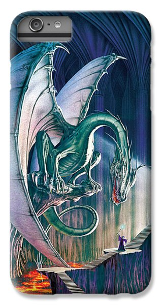 Dragon iPhone 8 Plus Case - Dragon Lair With Stairs by The Dragon Chronicles - Robin Ko