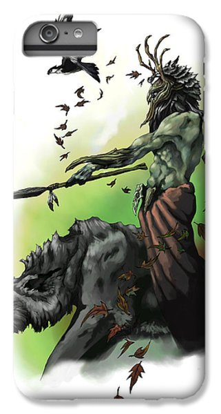 Dungeon iPhone 8 Plus Case - Druid by Matt Kedzierski