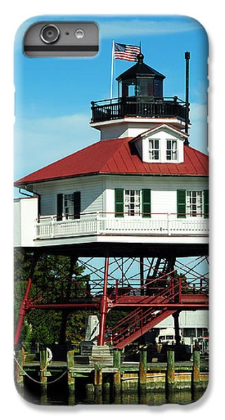Drum iPhone 8 Plus Case - Drum Point Lighthouse by Rebecca Sherman