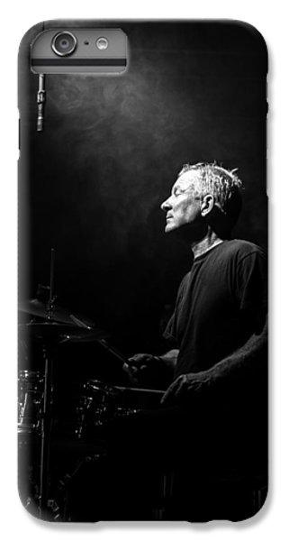 Drum iPhone 8 Plus Case - Drummer Portrait Of A Muscian by Bob Orsillo