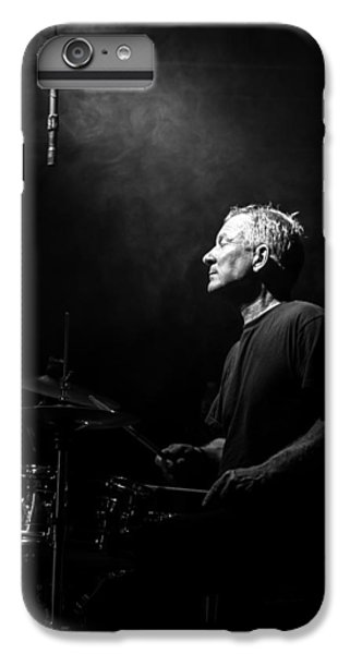 Drum iPhone 8 Plus Case - Drummer Portrait Of A Muscian by Bob Orsillo