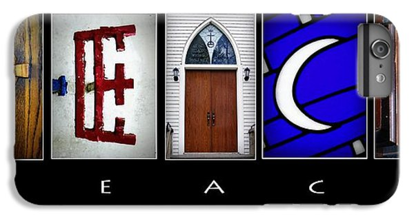 Celtic Cross iPhone 8 Plus Case - Elements Of Peace by Cricket Hackmann