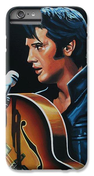 Rhythm And Blues iPhone 8 Plus Case - Elvis Presley 3 Painting by Paul Meijering