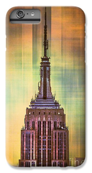 City Scenes iPhone 8 Plus Case - Empire State Building 3 by Az Jackson