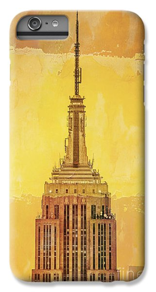 City Scenes iPhone 8 Plus Case - Empire State Building 4 by Az Jackson