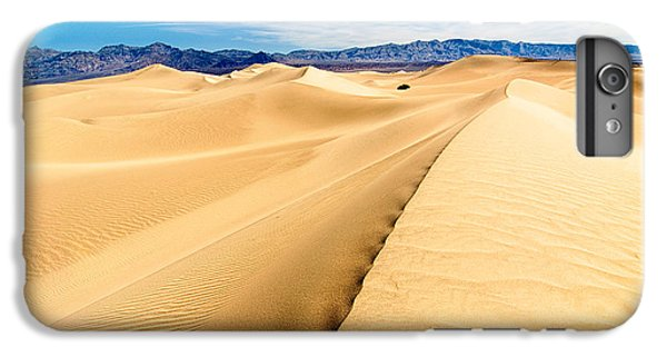 Sand iPhone 8 Plus Case - Endless Dunes - Panoramic View Of Sand Dunes In Death Valley National Park by Jamie Pham