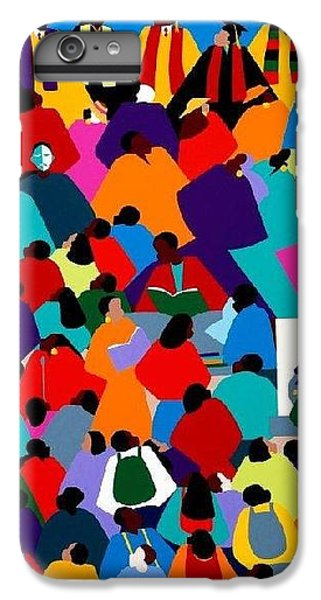 iPhone 8 Plus Case - Enlightenment Asu by Synthia SAINT JAMES