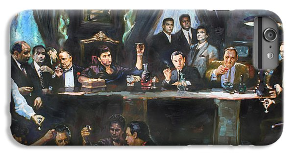 The iPhone 8 Plus Case - Fallen Last Supper Bad Guys by Ylli Haruni